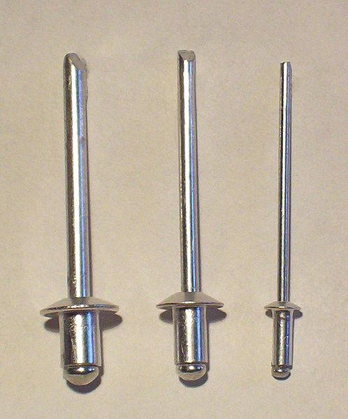 CRL Brown 1//8 Diameter 3//16 to 1//4 Grip Range Aluminum Rivet with Aluminum Mandrel in Packs of 1000
