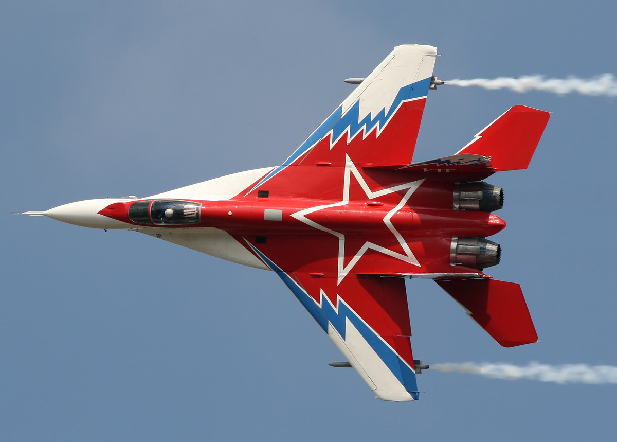 Parts of the Mig–29 are made from Al-Sc alloy